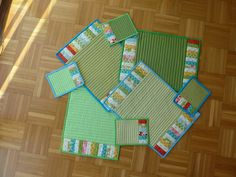 Placemats--Quilted on purchased mats