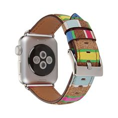 Description Sku: Color: Band Length: Product Dimensions: x x inches Perfectly compatible with Apple Watch & Sport & Edition Version Series Premium leather with fashionable craftsmanship, soft and comfortable to touch Apple Watch Wristbands, Stainless Steel Polish, Other Accessories, Wood Grain, Watch Bands, Smart Watch, Watches, Metal, Leather