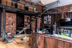 Cool Russian loft