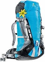 The women's Deuter Guide SL pack is a durable and comfortable top-loading pack that can be easily customized for mountaineering, climbing and skiing. (Camping Hacks For Women) Backpacking Gear, Hiking Gear, Hiking Backpack, Camping Gear, Outdoor Camping, Outdoor Gear, Women's Backpack, Hiking Tips, Camping Hacks