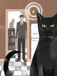 Sam Kalda's Of Cats and Men William Burroughs cats