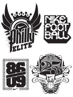 Nike Type + Illustration / Hydro74 / 2014  https://www.behance.net/gallery/20862985/Nike-Type-Illustration-Hydro74  http://www.reach.tv/creatives/hydro74/nike-type-illustration