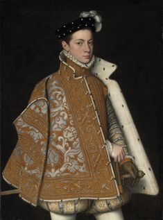 1560 - 'Portrait of Prince Alessandro Farnese' (Italian, Roma, later Duke of Parma and Piacenza. Attributed to Sofonisba Anguissola (Italian, Cremona, oil on canvas. National Gallery of Ireland Mode Renaissance, Italian Renaissance, Renaissance Artists, Parma, Caspar David Friedrich, Women Artist, Isabel I, List Of Paintings, Portrait Paintings