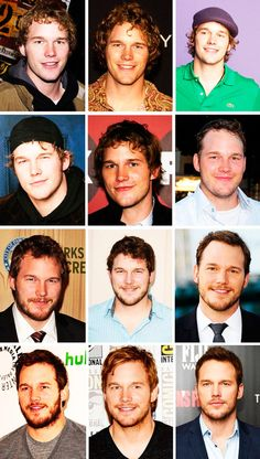 Chris Pratt - evolution