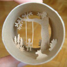 arte en rollos de papel higienico - Buscar con Google