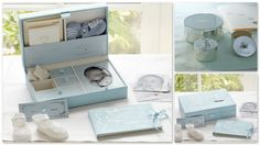 Shop baby keepsake boxes from Pottery Barn Kids. Find expertly crafted kids and baby furniture, decor and accessories, including a variety of baby keepsake boxes. Baby Keepsake, Keepsake Boxes, Scrapbook Bebe, Baby Hamper, Baby Box, Baby Memories, Baby Furniture, Baby Crafts, Pottery Barn Kids