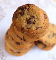 New York Times chocolate chip cookies – Bread et Butter