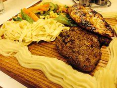 Grilled Steak&Chicken, simply the best.