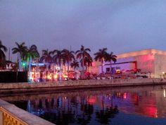 Atardecer en #CartagenadeIndias