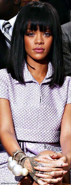 Rihanna in Chanel LBV