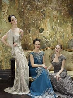 Downton Abbey beauties!