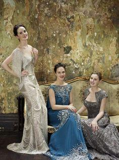 Downton Abbey beauties!