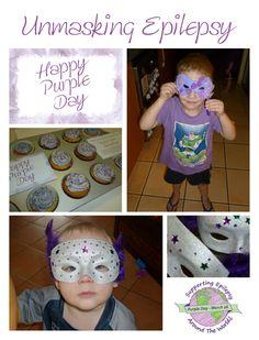 Purple Day for Epilepsy 2012 ©Purple Jungle Designs