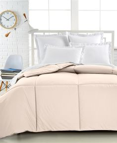Charter Club Superluxe Down Alternative Color Comforters, Only at Macy's - Bedding - College Lifestyle - Macy's