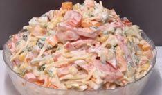 36 New Ideas For Pasta Recetas Ensaladas Lithuanian Recipes, Russian Recipes, Best Pasta Recipes, Cooking Recipes, Healthy Pastas, Healthy Recipes, Appetizer Salads, Soul Food, Food Photo
