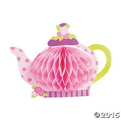 Tea Party Centerpiece - Oriental Trading