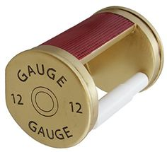 Old River Shotgun Toilet Paper Holder - 12 Gauge Shot Shell Bathroom Decor -- Learn more by visiting the image link. (This is an affiliate link) Man Cave Room, Unique Gifts For Him, Thing 1, Shotgun, Gauges, Toilet Paper, Shells, River, Bathroom