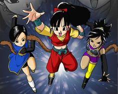 Saiyajin girls - Bueno,aqui teneis una foto de las saiyajin girls,mira que me costo encontrarla!Pero asi podeis saber como son,como ya os dije,una de ellas tiene un aire con C-18 y la otra con Pan,la tercera me recuerda un poco a Serippa,la unica miembro del escuadron de Barduck,el padre de Son Goku,lo que seria curioso de ver es si se transforman en supersaiyan,no he podido encontrar ningun video de ellas,asi que en su lugar os dejo otros dos videos de este juego que espero que os gusten…