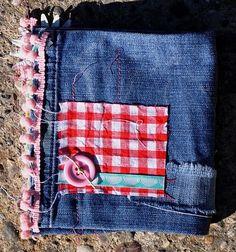 Mini album en jean Rencontre avec les marmottes