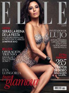Divine Eva Longoria for Elle Spain