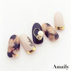 korean nail art 42 elegant nail art designs for prom 2019 46 42 elegant nail art designs for prom 2019 46 Marble Nail Designs, Gel Nail Designs, Nail Manicure, Nail Polish, Korea Nail, Asian Nails, Nailart, Korean Nail Art, Elegant Nail Art