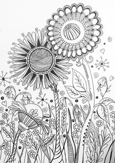 XXL coloring book pages preview for Kingsport Fun Fest Makers Faire by Valerie Dowdy Art www.valeriedowdy.com