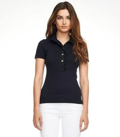 Woman Polo - Basic Black