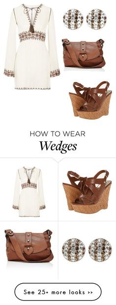 """Beautiful Dress"" by weavingmaidenbdayseptember21st on Polyvore featuring Talitha, Henri Bendel, The Limited and G by Guess"