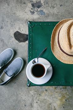 Little luxuries in life: an afternoon spent on the couch with a fresh cup of coffee and new sneakers. Shop new men's shoes and accessories from Gap.