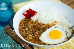 Keema Curry | Easy Japanese Recipes at JustOneCookbook.com. Stir fry vegetables and ground pork, then add curry powder and Japanese curry roux.  Simmer for just 15 minutes and it's ready to eat.