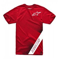 Camiseta Alpinestars Men's Billet Custom Tee Red #Alpinestars#Camiseta