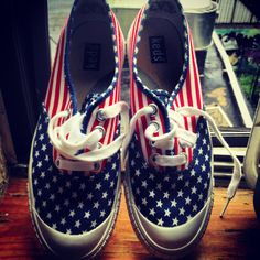 Fourth of July keds! http://pinterest.com/nfordzho/shoes-flats/