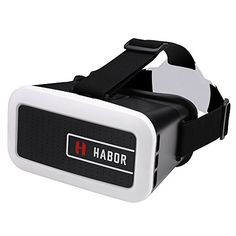 Habor 3D VR Virtual Reality Headset Virtual Reality Glasses for smartphones for 3D MoviesGames *** Want additional info? Click on the image.