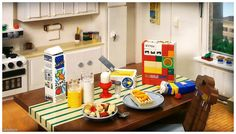 Everything, yes everything is made of LEGO - Look closely at the kitchen!  TBB cover photo: June 2015