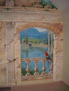 Chris Westall mural.