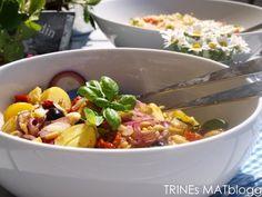Lun potetsalat med balsamicovinaigrette - TRINEs MATblogg