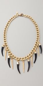 Fallon Jewelry Bijan Long Horn Necklace