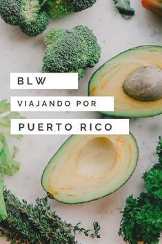 Descubre qué deliciosos alimentos podrás ofrecer a tu bebé si viajas con tu bebé a Puerto Rico y aplicas Blw (Baby Led Weaning) #blw #babyledweaning #blwenpuertorico  #alimentacioninfantil #PuertoRico Puerto Rico, Baby Led Weaning, Cantaloupe, Avocado, Fruit, Food, Gastronomia, Traveling, Food Items