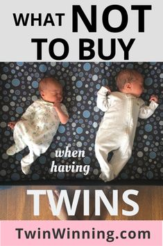 Pregnant with twins, or bringing twins home from the hospital? Then read on for What NOT To Buy When Having Twins. We go through twin gear you can do without and save you money. Twin Mom, Twin Babies, Baby Boys, Twin Baby Rooms, Best Bath Toys, Nursery Twins, Elephant Nursery, Nursery Ideas, Newborn Twins