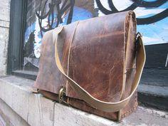 Bethune laptop bag handmade leather bag от LUSCIOUSLEATHERNYC