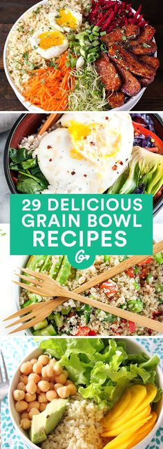 Beautiful These recipes are packed with protein, veggies, and amazing flavor.  #grainbowl   #healthy   #recipes   greatist.com/…   The post  These recipes are packed with protein, veggies, and am ..