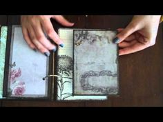Scrapbooking with Marion My February Journal and Valentines day page tutorial