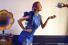 Candice Swanepoel by Chen Man for Femina Magazine