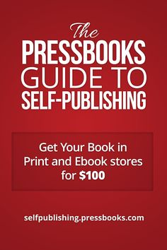 The Pressbooks Guide to Self-Publishing book cover... via Jane Friedman...how to publish on a bare bones budget.