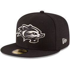 New Hampshire Fisher Cats New Era Authentic Collection On-Field 59FIFTY Fitted Hat - Black