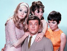 """"""" Roger Moore as """"The Saint"""" A British television series that aired on ITV from 1962 to """" Roger Moore, Classic Series, Classic Tv, The Saint Tv Series, History Of Television, Intimate Photos, Tony Curtis, Lone Ranger, Old Tv Shows"""