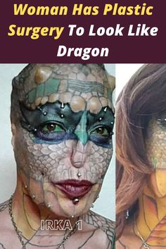 But when most people say they are transgender, they mean they identify with the opposite gender of their birth sex. One woman has deemed herself a trans-species. Instead of identifying with or changing her body to look like a different gender, she is changing it to make her look like a different species: a reptile, to be exact. Save