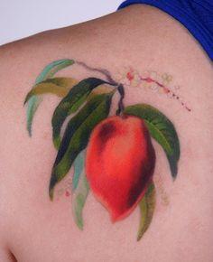 peach.