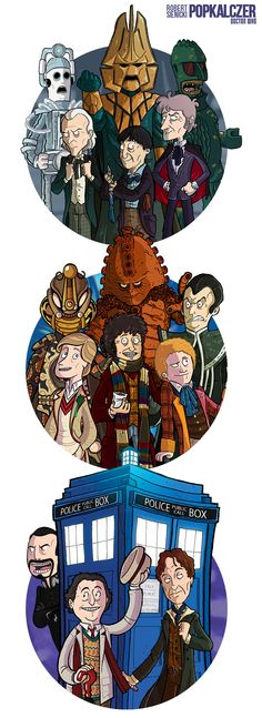 CLASSIC Doctor Who by rsienicki.deviantart.com on @DeviantArt
