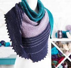 Ashburn by Melanie Berg Knit Shawl Kit - None